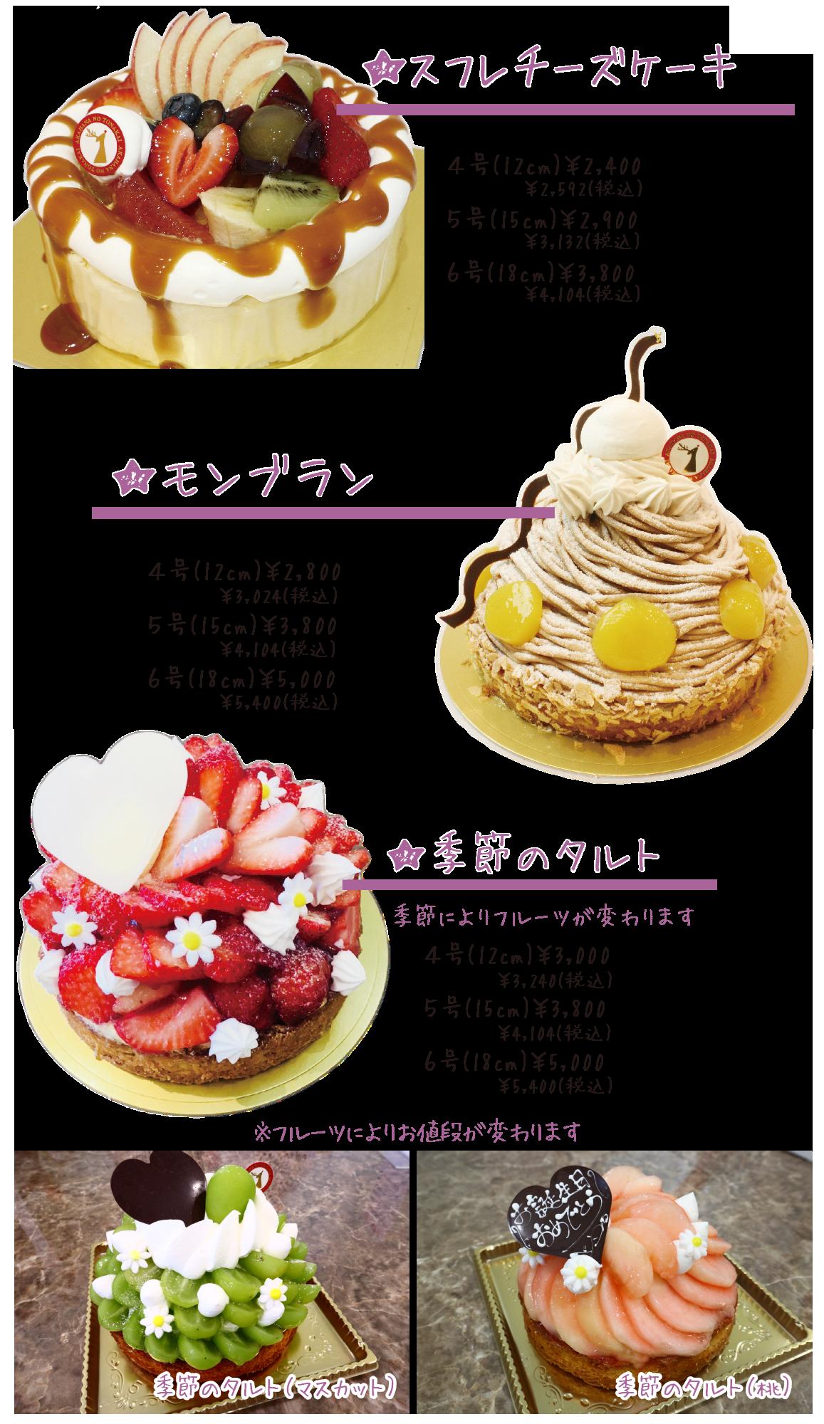 デコレーションケーキ2